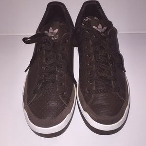 Adidas Originals Rod Laver Chocolate Tennis Shoes